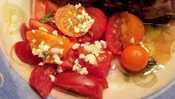 Tomato Salad (tomata Salata) Recipe