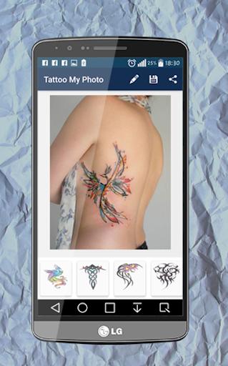 玩免費遊戲APP|下載Tattoo my Photo app不用錢|硬是要APP