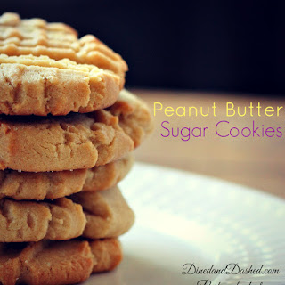 Peanut Butter Sugar Cookies