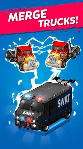Merge Truck: Grand Truck Evolution Merger game apkmr screenshots 1