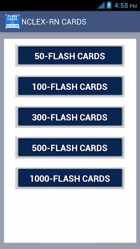 NCLEX-RN5000フラッシュカード