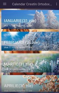 Calendar Creştin Ortodox 2018 - náhled