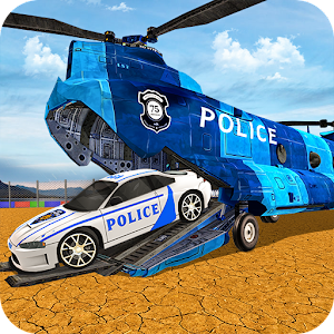 Transport Truck Police Cars: Transport Games