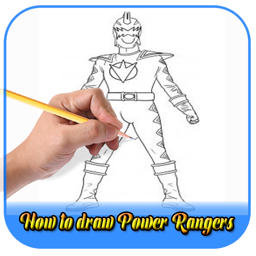 how to draw power rangers