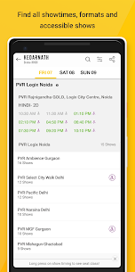 PVR Cinemas – Movie Tickets  App Download For Android and iPhone 3