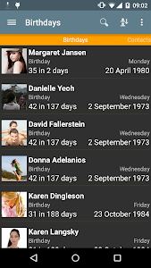 Birthdays v15.2
