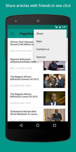 無料新闻Appのフォーブスアフリカ|記事Game