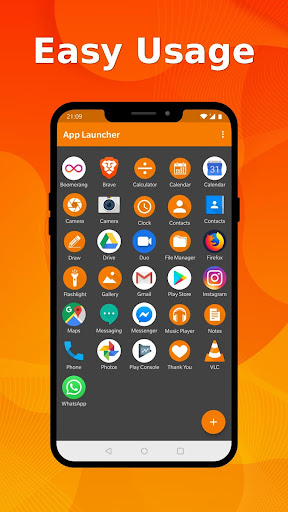 Simple App Launcher - Launch apps easily & quickly 5.3.0 screenshots 1