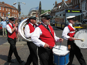 Photo: Smokehouse Blues Band, Dereham Festival Parade.