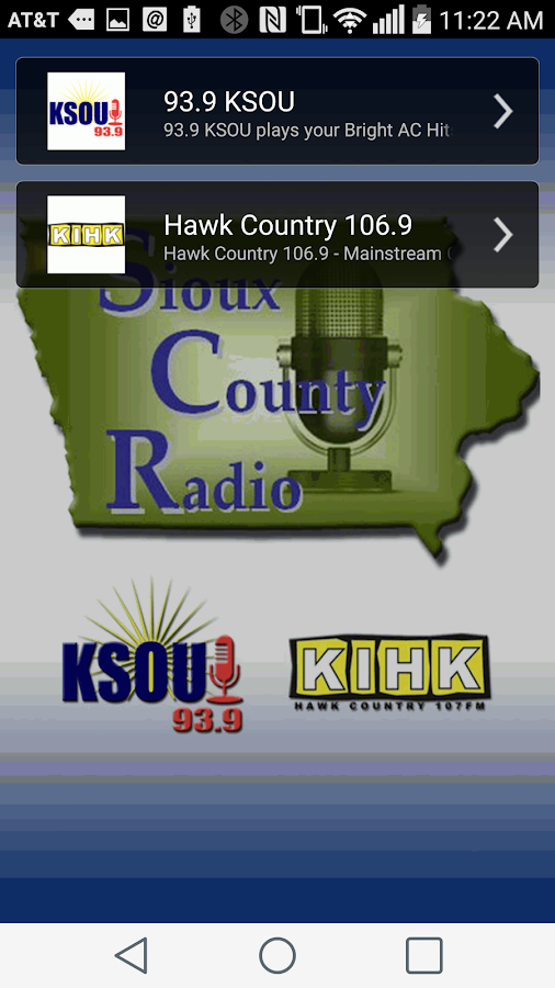 Sioux County Radio- screenshot