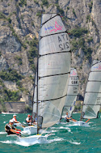 Photo: SPORT VELA CAMPIONE D/G UNIVELA D-ONE EUROPEAN CHAMPIONSHIP  NELLA FOTO   REGATA    2013-06-23  WWW.GARDAHD.IT  RENZO DOMINI