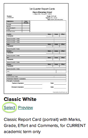Select Classic White