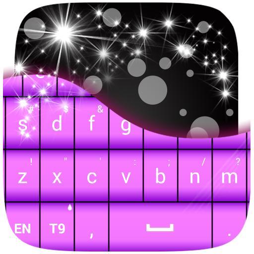 紫色的鍵盤 個人化 App LOGO-APP試玩