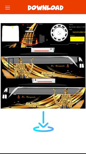Livery Bussid PO Haryanto V2 1 screenshots 3