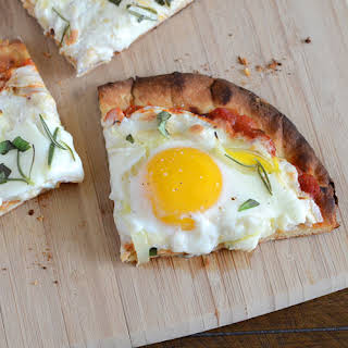 Vegetarian Breakfast Pizza Recipes.