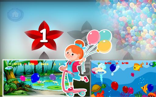 다채로운 풍선 팝 : 붐 대시