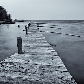 old pier too by Erwan Photochrome - Landscapes Travel