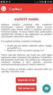 mySASY mobile - náhled