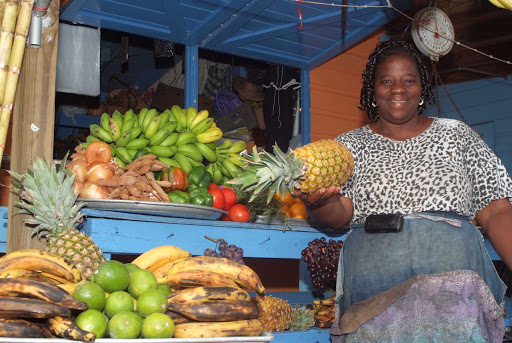 Grab some fresh fruit from a local fruit vendor on Grand Bahama Island.