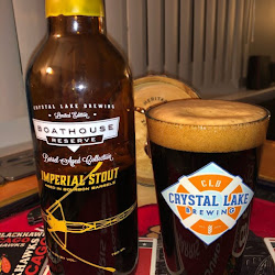 2018 Crystal Lake Boathouse BBA Imperial Stout