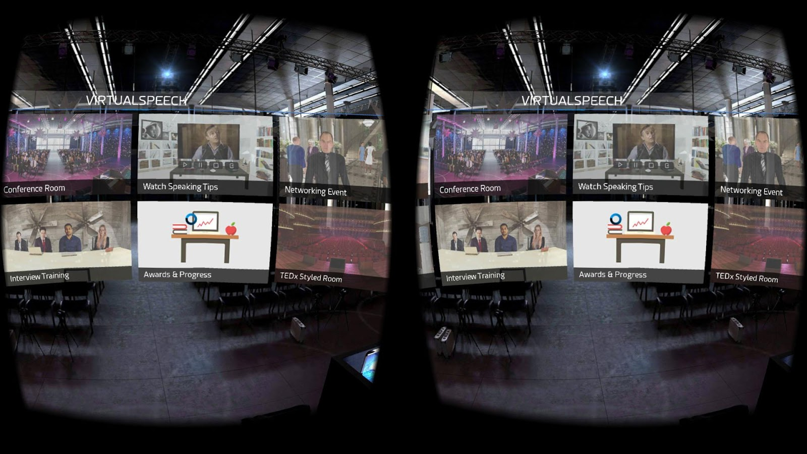 VirtualSpeech - Public Speaking VR- screenshot