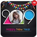 Happy New Year Wishes : 2019 New Year Photo Frames icon