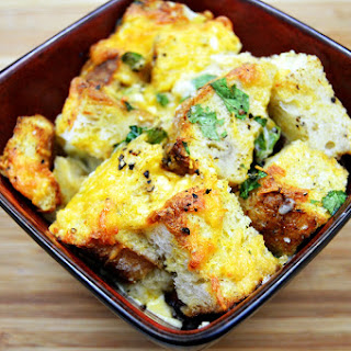Chicken Bacon Strata