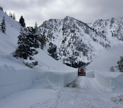 Snow Plow near Tahoe
