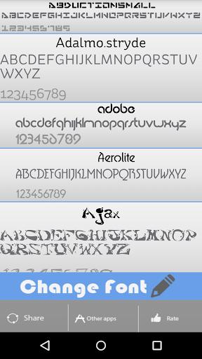 Phone System Font Changer