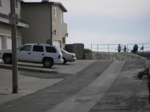 Photo: View down our street to ocean. Steps to sand.