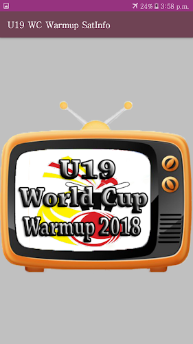 U19 WC Warmup 2018 TV Channel (Sat Info)-FREE APK 1 0