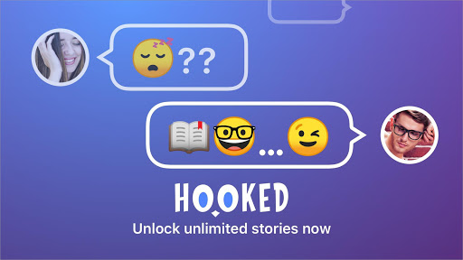 Screenshot for HOOKED - Chat Stories in United States Play Store