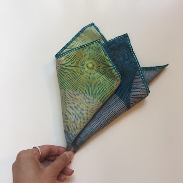 Pocket Square: circle puzzle