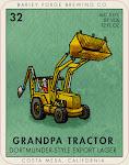 Barley Forge Grandpa Tractor