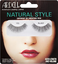 Ardell Natural Style Lashes - 105 Black