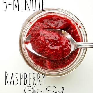 5-minute Raspberry Chia Seed Jam