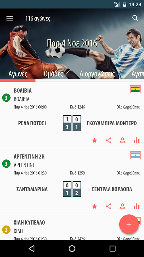 ToolBet for Android - στιγμιότυπο οθόνης