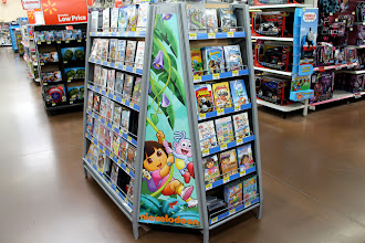 Photo: Then the search was on for more Dora books. I had heard there was a new book, Dora the Gymnast out - and I was determined to find it. I started seeing Dora everywhere I turned...