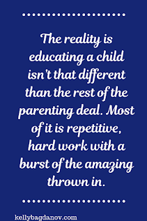 Article on the realities of homeschooling, yes it's amazing, but it's also hardwork. Being prepared for that helps. #kellybagdanov #homeschooling #homeschool tips #classicalconversations #charlottemason #teaching #education