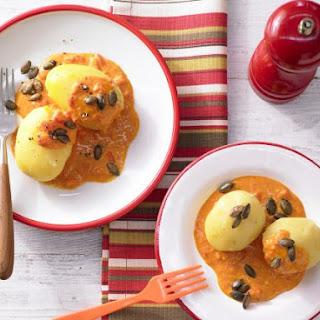 Potatoes in Paprika Cream Sauce