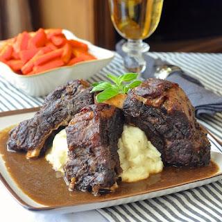 St. John's Stout Braised Beef Ribs