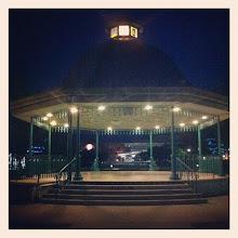 Photo: Maple Ridge downtown park at night #intercer #park #night #light #lantern #city #relax #summer #silence #urban #architecture #design #urbano #town #structure #reflections - via Instagram, http://instagr.am/p/M-R7LpJfn-/