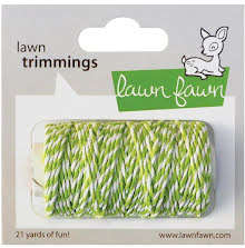 Lawn Fawn Trimmings Hemp Cord 21yd - Lime