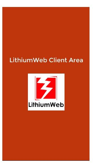 LithiumWeb Client Area- screenshot