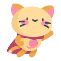 Cute Kitty Stickers For WhatsApp (WAStickerApps) icon