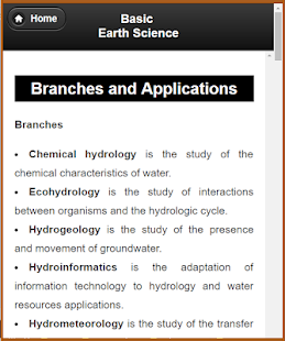 Basic Earth Science screenshot
