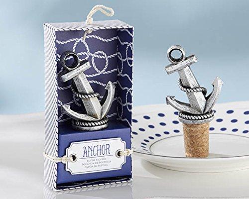 Anchor bottle stopper or bottle opener