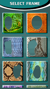 Snake Skin Photo Frames - náhled