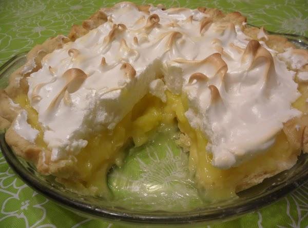 Luscious Lemon Pie Filling Mix(and Pie) Recipe