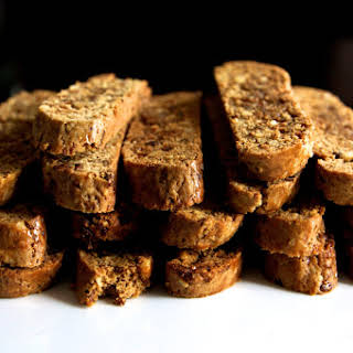 Fig and Walnut Biscotti.
